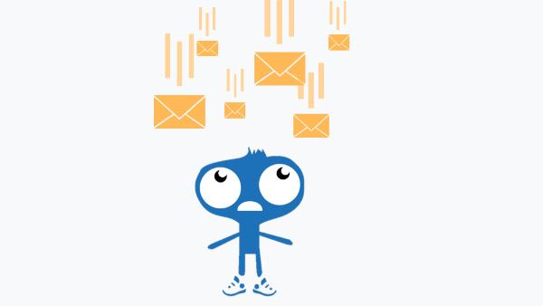Gouti évite l'envoi des mails